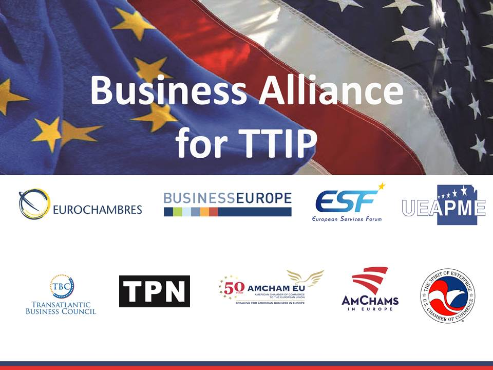 Business Alliance For Ttip Statement